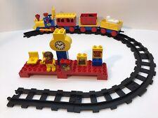 Vintage Lego Duplo 2701 PreSchool Push Along Train Station Express -Not Complete