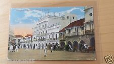Postcard Tarjeta Postal Colombia Cartagena Plaza de Coches UNUSED
