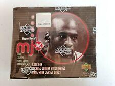 🔥 1998 Upper Deck MJx Sealed Hobby Box  💎  Michael Jordan Auto Jersey ?