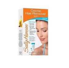 SALLY HANSEN Creme Hair Remover Kit For Face Hair Removal NIB