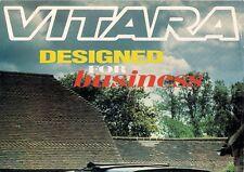Suzuki Vitara Soft Top Sport Commercial 1993-94 UK Market Foldout Sales Brochure