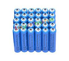 30x AAA 1800mAh 1.2V Ni-MH 3A color azul Batería Recargable Para RC/Juguetes/MP3