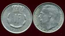 LUXEMBOURG  1 franc  1980