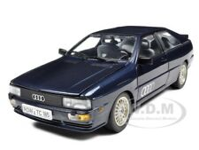 1981 AUDI QUATTRO BLUE 1/18 DIECAST MODEL CAR BY SUNSTAR 4156