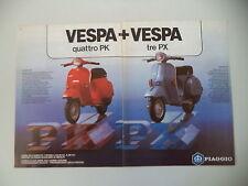 advertising Pubblicità 1983 VESPA 50/125 PK e PX