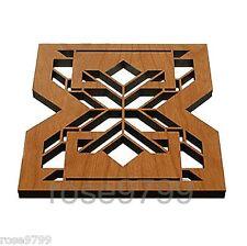 Frank Lloyd Wright Imperial Hotel Hardwood Trivet and Wall Plaque TR04 NIB