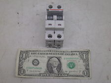 CUTLER HAMMER WMS2D10 D10 CIRCUIT BREAKER 10A AMP 2P POLE USED BUT GOOD FREE S&H