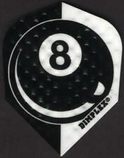 8 Ball Dimplex Dart Flights: 3 per set