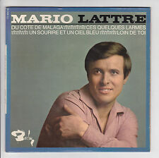"""LATTRE Mario Disque 45T 7"""" EP DU COTE DE MALAGA -LOIN DE TOI -BARCLAY 70990 RARE"""