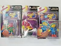 Cosmic Kids Solar System Action Figure Lot of 4 Educational Design NEW Comic