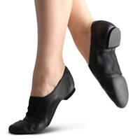 Capezio V Jazz Low Dance Shoes Black size 11.5 W child New in Box CP01C