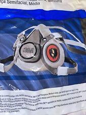 NEW 3M 6200  Half Facepiece Reusable Respirator   Size: Medium Free Shipping