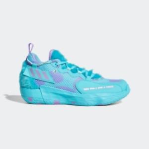 adidas MENS Basketball Shoe Dame 7 EXTPLY Sulley Pulse Aqua/Sonic Fuchsia US 8