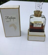 Vintage Replique 1/2 oz Perfume Bottle And Box 1950's By Raphael