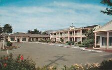 *(O)  Santa Barbara, CA - Colonial Motel - Exterior and Parking Area