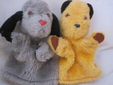 VINTAGE SOOTY AND SWEEP PATSY B MARKETING PLUSH GLOVE PUPPET SOFT TOYS 1974