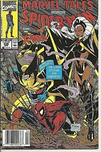 °MARVEL TALES #230 REPRINT MARVEL TEAMUP #1°USA Marvel 1990 Todd McFarlane Cover