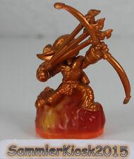 Golden flameslinger skylanders giants personaje Exclusive Limited variante usado
