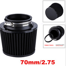 1pcs Universal  Motorcycle Parts 2.75'' High Flow Air Intake Cone Filter 70mm