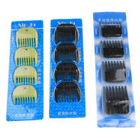 4Pcs Universal Hair Clipper Limit Comb Guide Attachment Size Barber Replace LY