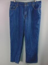 L. L. Bean Classic Fit Denim Jeans Straight Leg Women's 16R Casual Pants Outdoor