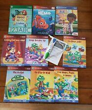 Leap Frog LeapReader Reader PEN & Books Consonants Short Vowel Collection LOT