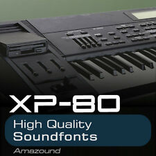 XP80 SOUNDFONT LIBRARY 128 SF2 FILES 12 DRUMKITS 1719 SAMPLES 1.3GB MAC PC LOGIC