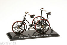 Collection Bicycle 1:15 scale Rudge Double Driver Tricycle. 1891 Diecast BIC057