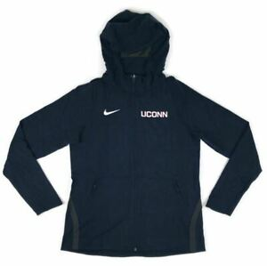 New Nike UConn Huskies Hyperelite Basketball Full Zip Jacket Hoodie Women's M