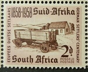 SOUTH AFRICA 1958 SG168 CENTENARY OF ARRIVAL OF GERMAN SETTLERS  -  MNH