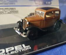 OPEL COLLECTION - Opel P4 1935 - 1937 1:43  braun, Dach schwarz