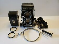 Mamiya C330 f Professional Tlr Film Camera w/ Sekor 80mm F2.8 Lens & Uv Filters