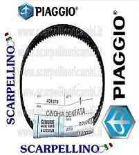 CINGHIA POMPA OLIO GILERA TYPHOON X 125  1998-00 -STRAP OIL PUMP- PIAGGIO 431370