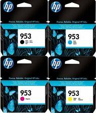 4x original HP 953 tinta cartuchos OfficeJet pro 8716 8720 8725 8730 8740 set