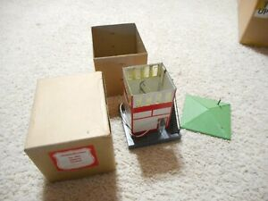 S SCALE AMERICAN FLYER #593 SIGNAL TOWER IN ORIGINAL BOX