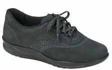 SAS Walk Easy Nero Black, Women's Walking Shoes, Many Sizes & Widths