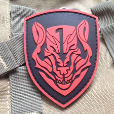 AFO Wolfpack Medal of Honor MOH USA ARMY HOOK Morale PATCHES 3D PVC Patch
