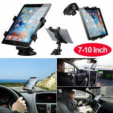 """360° Tablet Car Windshield Mount Holder Desk Bracket for 7""""-10"""" Tablet Phone GPS"""