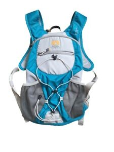 Nathan  Gray& Aqua Hydration Pack Running Vest with 1.5L Bladder Fusion...