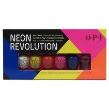 Opi Neon Revolution Nail Polish 6 pc 1/8 oz Each Bottle