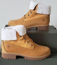 NEW WOMEN'S TIMBERLAND® JAYNE WATERPROOF FLEECE FOLD DOWN  BOOTS US 7 ---10