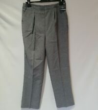 NWT Bonmarche Straight Leg Grey Work Casual Trousers Smart Size 12 UK Length 27""