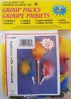 Feathered Pencil Toppers Kids' Group Craft Project Kit VTG Merri Mac Enterprises