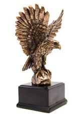 New Eagle - Small  Bronze Plated Statue - 7521 Statue Treasure of Nature