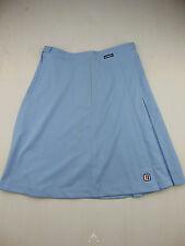 Vintage 80 BENNING Gonna XL Skirt Rock Falda VTG NOS Tennis MADE IN ITALY Blu