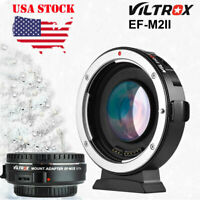VILTROX EF-M2II AUTO FOCUS REDUCER SPEED BOOSTER ADAPTER FOR CANON TO M 4/3 I5R3