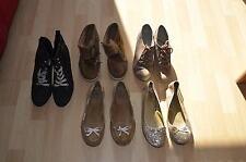 Damenschuhe, Stiefel, Ballerinas, verschiedene Modelle/Farben/Größen, gebraucht