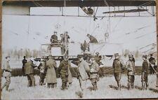 Airship/Dirigible/Blimp 1908 Realphoto French Aviation Postcard: La Republique 1