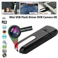 Hidden USB Flash Drive Motion Detection Spy Nanny Cam HD Video Recorder Camera