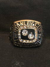 1992 Mario Lemieux Pittsburgh Penguins Stanley Cup Championship Ring Size 13